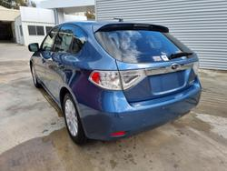 2009 Subaru Impreza R G3 MY09 AWD Blue