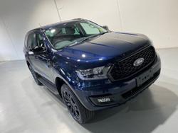 2021 Ford Everest Sport UA II MY21.75 4X4 Dual Range Blue