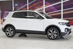 2021 Volkswagen T-Cross 85TSI CityLife C1 MY21 Pure White