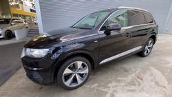 2019 Audi Q7 50 TDI 4M MY19 Four Wheel Drive Orca Black