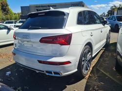 2019 Audi SQ5 FY MY20 Four Wheel Drive Glacier White