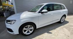 2020 Audi Q7 45 TDI 4M MY20 Four Wheel Drive Glacier White