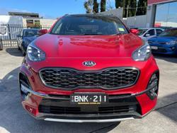 2021 Kia Sportage GT-Line QL MY21 AWD Fiery Red