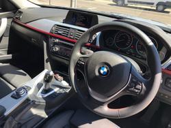 2014 BMW 3 Series 316i Sport Line F30 Silver