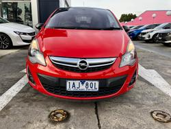 2012 Opel Corsa Colour Edition CO Magma Red