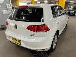 2015 Volkswagen Golf 92TSI 7 MY16 Pure White