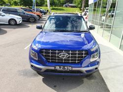 2020 Hyundai Venue Elite QX MY20 Blue