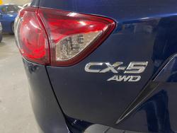 2012 Mazda CX-5 Maxx Sport KE Series AWD Stormy Blue