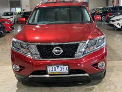 2015 Nissan Pathfinder Ti R52 MY15 4X4 On Demand Cayenne Red