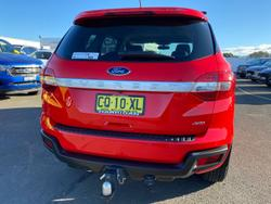 2015 Ford Everest Ambiente UA 4X4 Dual Range True Red