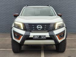 2020 Nissan Navara N-TREK Warrior D23 Series 4 4X4 Dual Range WHITE