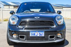 2014 MINI Paceman Cooper S R61 MY15 Absolute Black