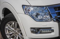 2018 Mitsubishi Pajero GLS NX MY18 4X4 Dual Range White