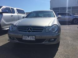 2005 Mercedes-Benz CLK-Class CLK280 Avantgarde C209 MY06 Silver