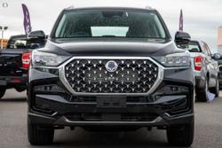 2021 SsangYong Rexton ELX Y450 MY21 4X4 Dual Range Black