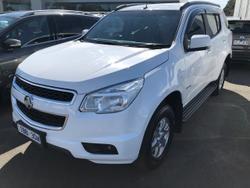 2014 Holden Colorado 7 LT RG MY14 4X4 Dual Range White