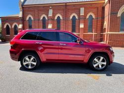 2014 Jeep Grand Cherokee Overland WK MY14 4X4 Dual Range Red