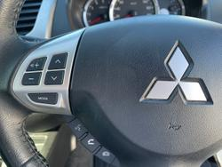 2014 Mitsubishi Triton GLX-R MN MY15 4X4 Dual Range Black