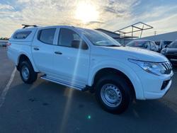 2015 Mitsubishi Triton GLX MQ MY16 4X4 Dual Range White