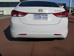 2013 Hyundai Elantra Elite MD3 Creamy White