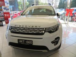 2016 Land Rover Discovery Sport SD4 HSE Luxury L550 MY16.5 4X4 Constant White