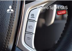 2019 Mitsubishi Pajero Sport GLS QF MY20 4X4 Dual Range White