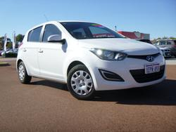 2014 Hyundai i20 Active PB MY14 Coral White