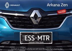 2021 Renault Arkana Zen JL1 Blue
