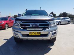 2015 Ford Everest Trend UA 4X4 Dual Range Aluminium