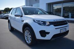 2017 Land Rover Discovery Sport TD4 180 SE L550 MY17 4X4 Constant White