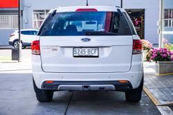 2013 Ford Territory TX SZ AWD White