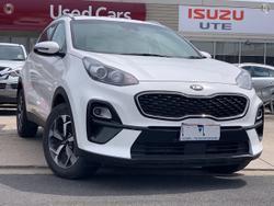 2020 Kia Sportage S QL MY21 White
