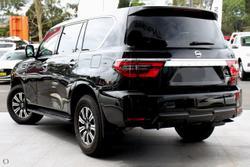 2021 Nissan Patrol Ti Y62 MY21 4X4 Dual Range Black