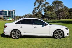 2018 Audi A4 S line B9 MY18 Four Wheel Drive White