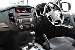2013 Mitsubishi Pajero GLX NW MY14 4X4 White