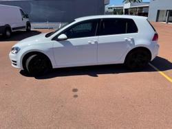 2015 Volkswagen Golf 90TSI Comfortline 7 MY15 White