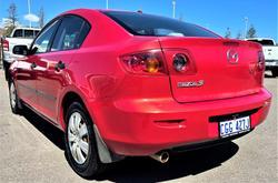 2004 Mazda 3 Neo BK Series 1 Velocity Red