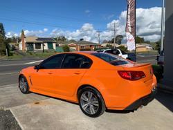 2014 Holden Commodore SV6 VF MY14 Orange