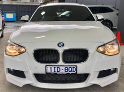 2014 BMW 1 Series 125i M Sport F20 MY14 Alpine White