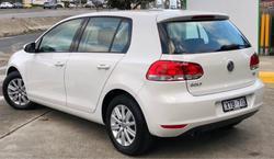 2009 Volkswagen Golf 77TDI Trendline VI MY10 Candy White
