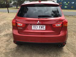 2017 Mitsubishi ASX LS XC MY17 Red