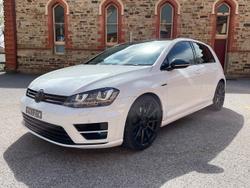 2014 Volkswagen Golf R 7 MY14 Four Wheel Drive White