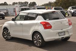 2019 Suzuki Swift GLX Turbo AZ White