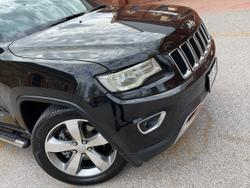 2013 Jeep Grand Cherokee Limited WK MY14 4X4 Constant Black