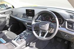 2019 Audi Q5 40 TDI design FY MY19 4X4 On Demand White
