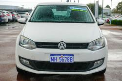 2012 Volkswagen Polo 77TSI Comfortline 6R MY12.5 Candy White