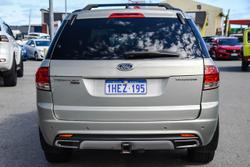 2011 Ford Territory Titanium SZ AWD Silver
