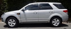 2012 Ford Territory TX SZ Silver