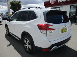 2018 Subaru Forester 2.5i-S S5 MY19 AWD Crystal White