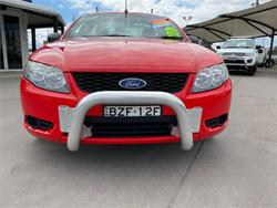 2011 FORD FALCON XT FG UPGRADE Red
